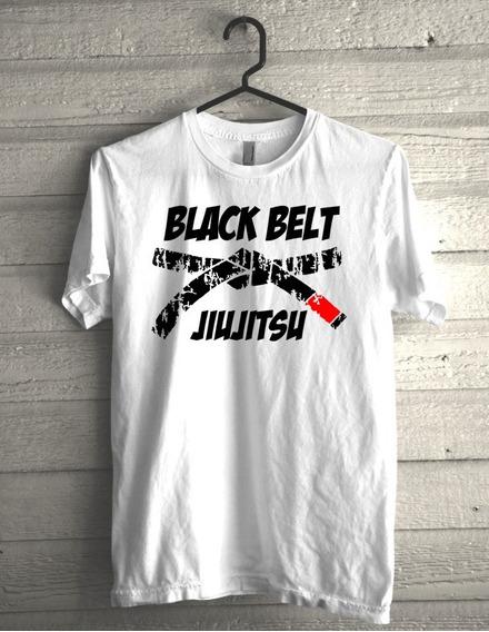 Camiseta Black Belt Jiujitsu