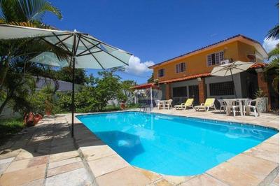 Casa Com 4 Dormitórios À Venda, 235 M² Por R$ 2.500.000 - Porto De Galinha - Ipojuca/pe - Ca0194