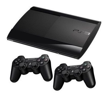 Console Playstation 3 Super Slim 2 Controles