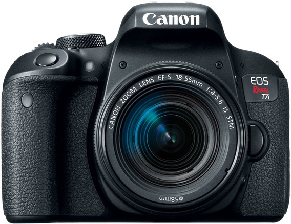 Camera Dslr Canon T7i 18-55mm Is Stm C/ Wifi