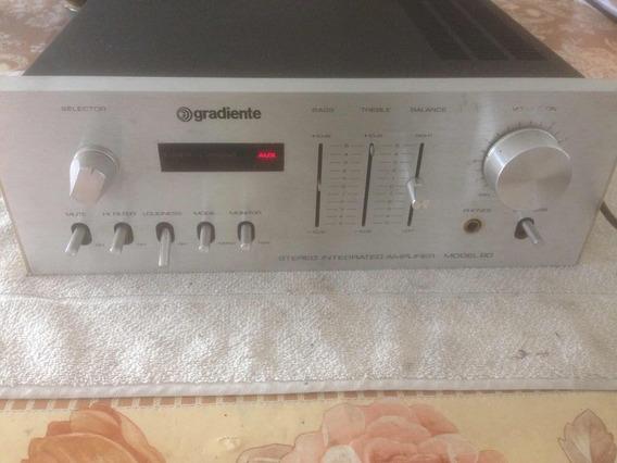Amplificador Gradiente Model 80 - Lab - Pro