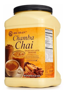 3 Chamba Chai Te Latte Rinde Bebida C - L a $20408