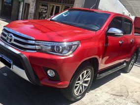 Toyota Hilux 2.8 2016 Hdi Cd Srx 4x4 Automática Con Cuero