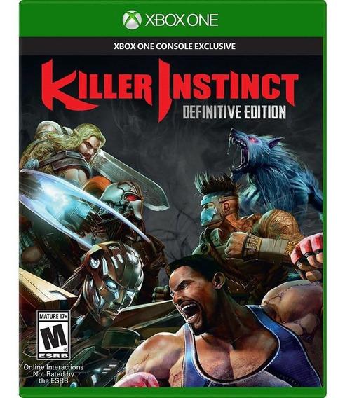 Killer Instinct Definitive Edition Xbox One Novo Lacrado