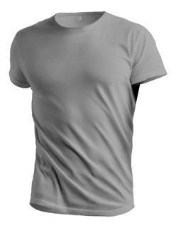 Remera Camiseta Deportiva Dri Fit Cool Gris