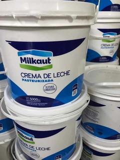 Crema De Leche Al 44% Milkaut X 5 Lts