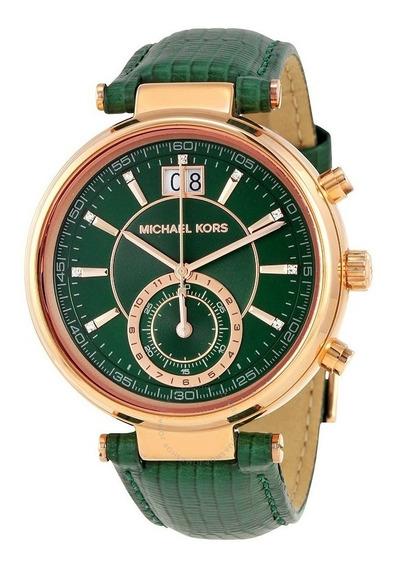 Reloj Michael Kors Mujer Sawyer Mk2581 Original Importado