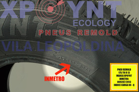 Pneu Remoldado C Inmetro 175/70r13 Lj  Remold Gol