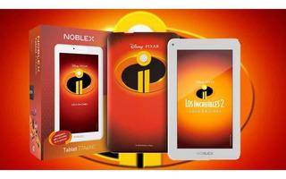 Tablet 7 Noblex Quad Core 2ram 8gb T7a6inc Disney Ad
