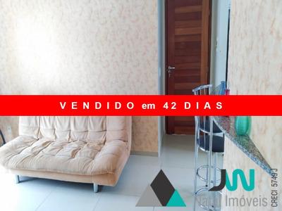 Venda De Apartamento Em Ponta Negra, Todo Mobiliado, Com 2 Quartos Sendo Um Suíte, No Condomínio Estrela Do Atlântico - Ap00158 - 33131874