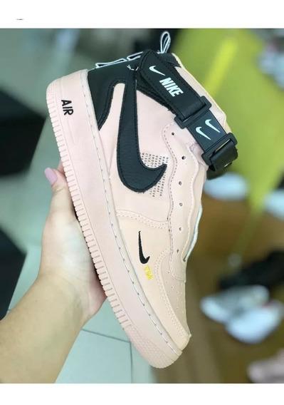Tênis Bota Nike Air Force Tm Masc/fem Unissex & Frete Grátis