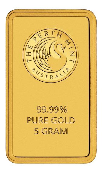 Robmar-australia-lingote De 5 G. De Oro Puro 0,999 De 24 K,