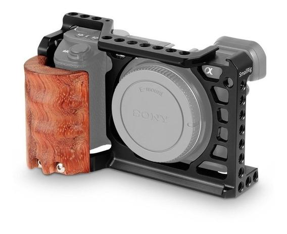 Smallrig Cage Kit P/ Sony A6500 C/ Cb De Madeira Modelo 2097