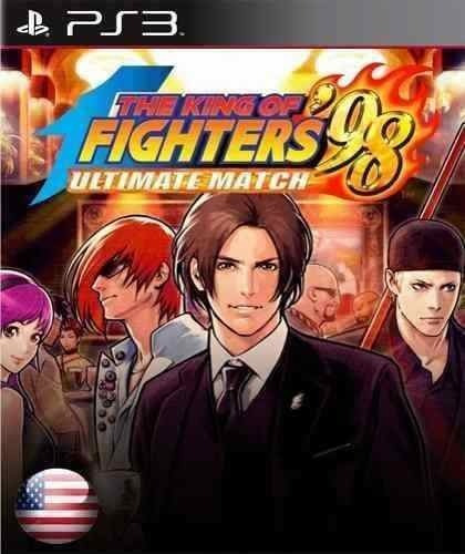 The King Of Fighters Kof 98 Ultimate Match - Jogos Ps3