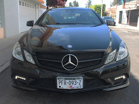 Mercedes Benz E500 Coupe 2011