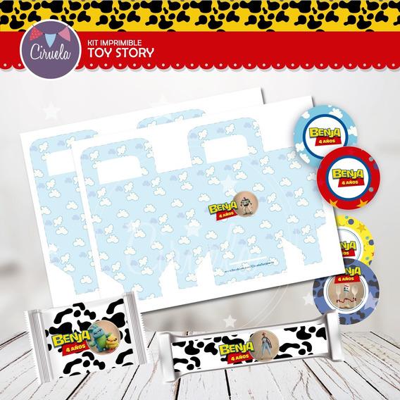 Nuevo Kit Toy Story4! Imprimible Cotillón Personalizado
