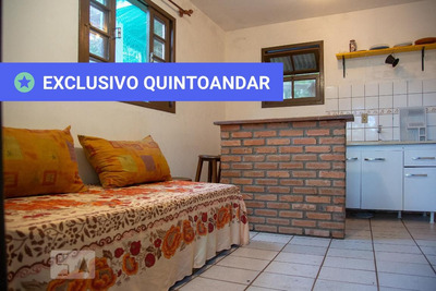 Apartamento No 1º Andar Mobiliado Com 1 Dormitório E 1 Garagem - Id: 892909122 - 209122