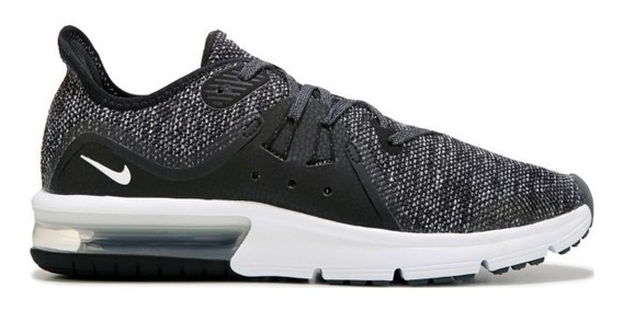 Zapatillas Nike Air Max Sequent 3 Negras Mujer.