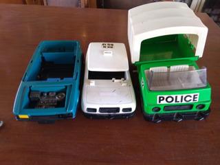 Carrinhos Trol Playmobil 3 Modelos