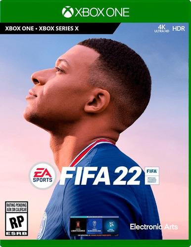 Imagen 1 de 2 de Fifa 22 Xbox One Fisico Sellado Original Preventa Real Ade