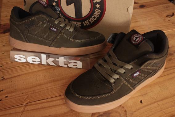 One Footwear - 411 Low 27mx Clr. Olivo / Tenis Skate
