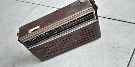 Radio Antigo Fujiyama No Estado, Oara Coleção Ou Reparo Leia