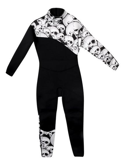 Vestido Con Mangas Largas De Neopreno De 3mm Para Snorkel