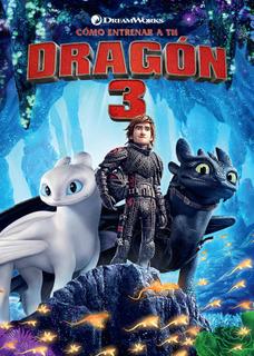 Dvd - Como Entrenar A Tu Dragon 3