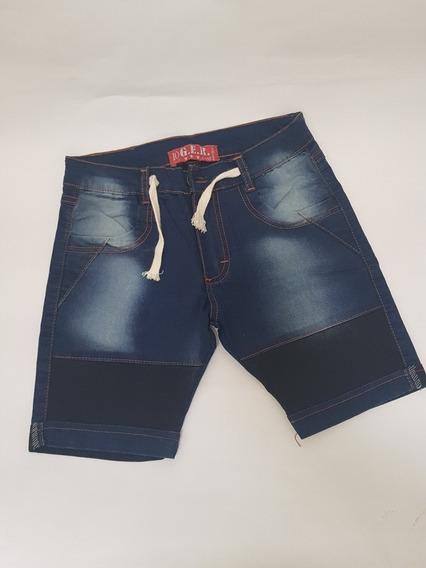 Bermuda Jeans Spandex Talle 5/6 + Reg Remera