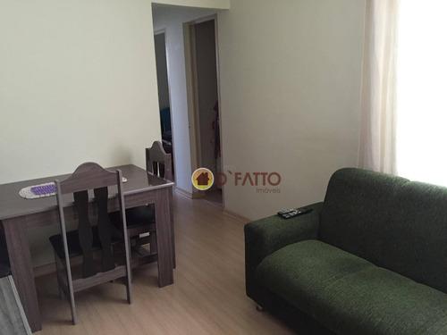 Imagem 1 de 6 de Apartamento Residencial À Venda, Cidade Satélite Santa Bárbara, São Paulo - Ap0660. - Ap0660