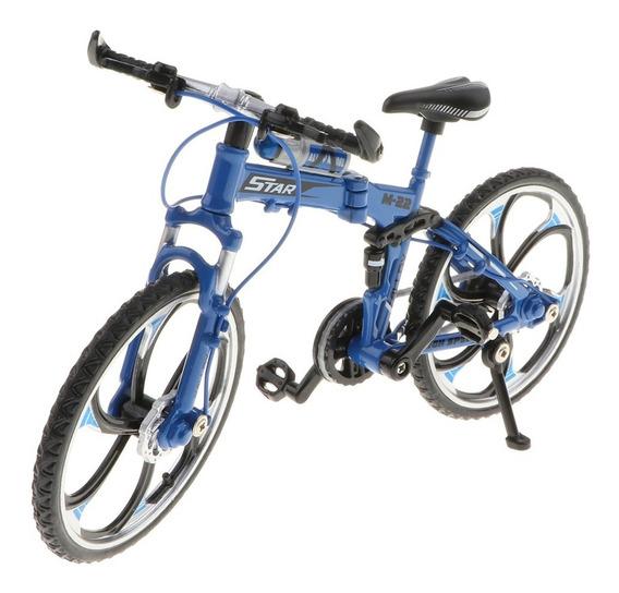 1:10 Escala Modelo De Bicicleta Diecast Liga