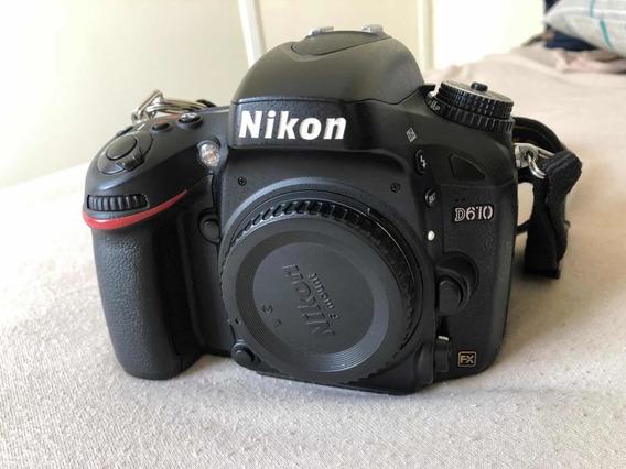 Câmera Nikon D610
