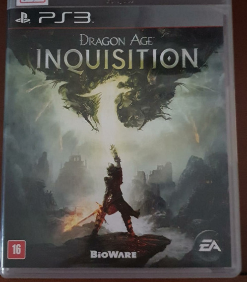 Jogo De Ps3 -dragon Age Inquisition