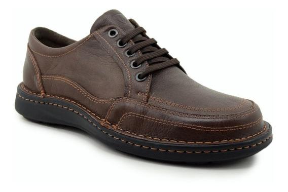 Zapatos Acordonados De Cuero Lombardino Talles Únicos