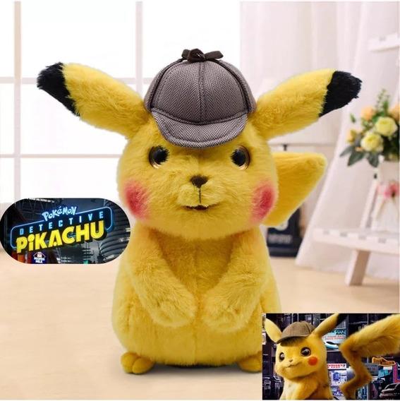 Detetive Pikachu O Filme - Pelúcia Original E Etiquetada M2