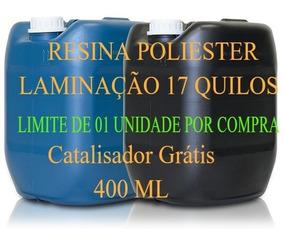 Resina Poliéster 17 Kg