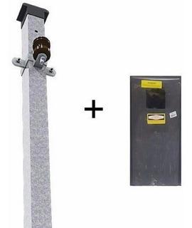 Kit Caixa Luz 1 Medidor Rua + Poste Padrão Eletropaulo 10mm