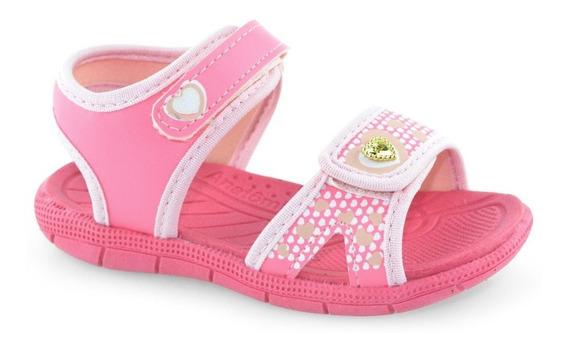 Sandália Papete Rosa Tic Tac Klin Anatômica 711079 | Baby