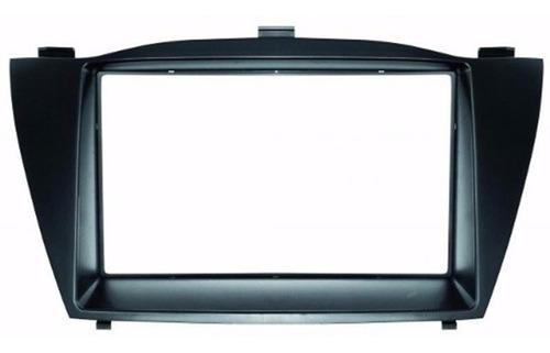 Moldura Dvd Ou Multimidia  2 Din Hyundai Ix35