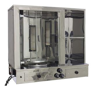 Máquina Churrasco Grego Balcão Espeto Giratório Automático