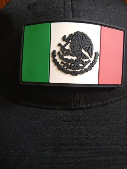Parche Bandera Mexicana A Color Fabricado En Pvc