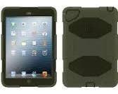 Capa Case Griffin Survivor iPad Air 1 Máxima Proteção Verde