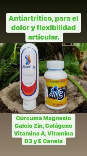 Artr3 Suplemento Dietario  Con Curcuma Y Colageno