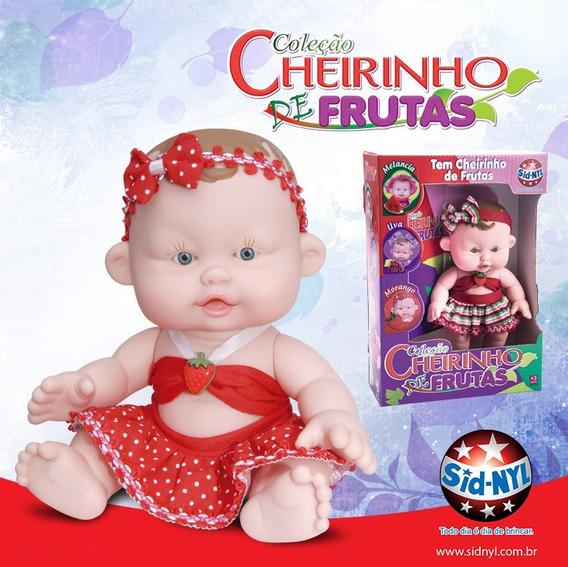 Promoção Kit 05 Boneca Bebê Com Cheirinho De Morango