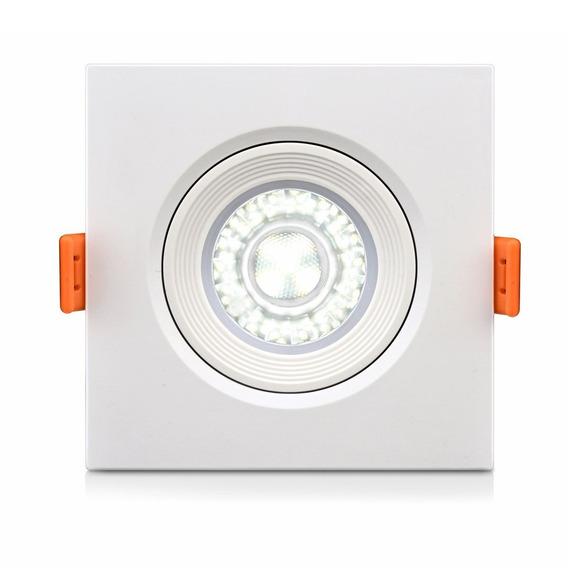 Spot 5w Super Led Quadrado Smd Microled Com Nf-e