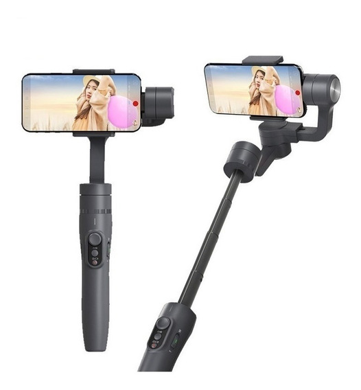 Estabilizador De Imagem P/ Celular Feiyutech Vimble 2 Extensão 18cm Youtuber Vlogs Fotos Videos Bluetooth App Controle