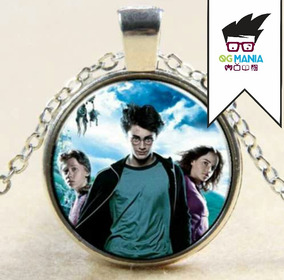 Colar Harry Potter Hermione Ronnie Banhado A Prata