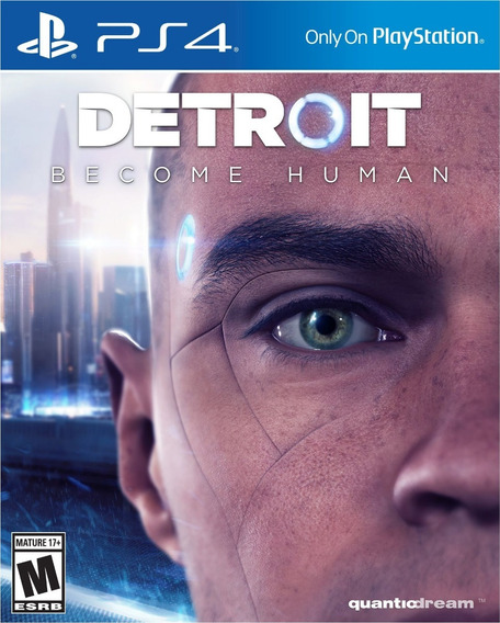 Detroit Become Human Ps4 Mídia Física Novo Lacrado Português