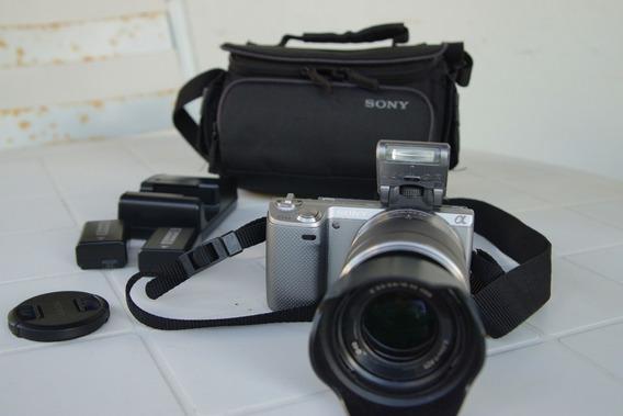 Câmera Fotográfica Sony Mirrorles Nex 5n