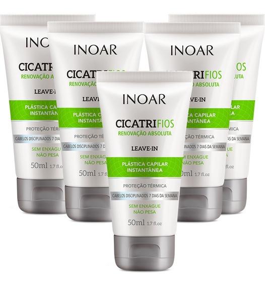 Inoar Kit Cicatrifios Leave-in 50ml (5 Produtos)